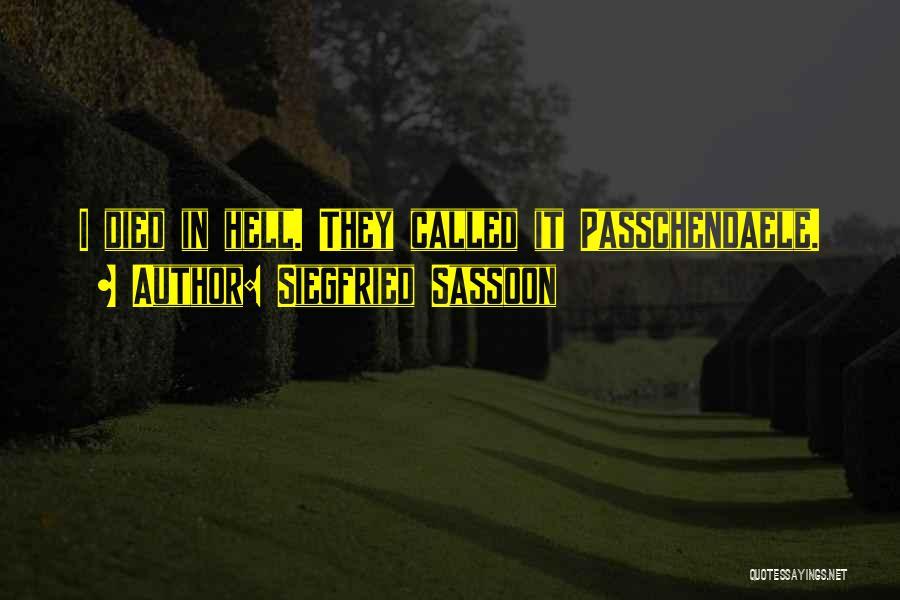 Siegfried Sassoon Quotes 1945182