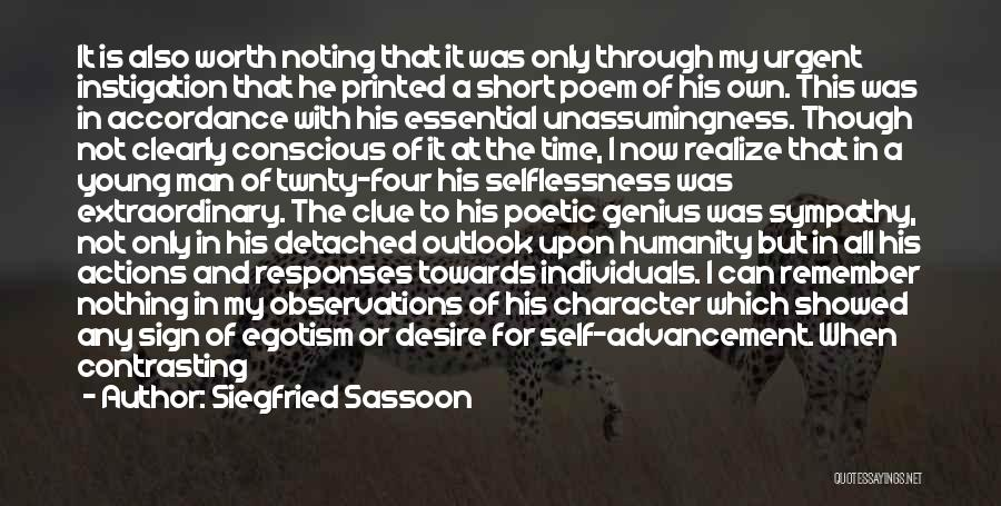 Siegfried Sassoon Quotes 2023489