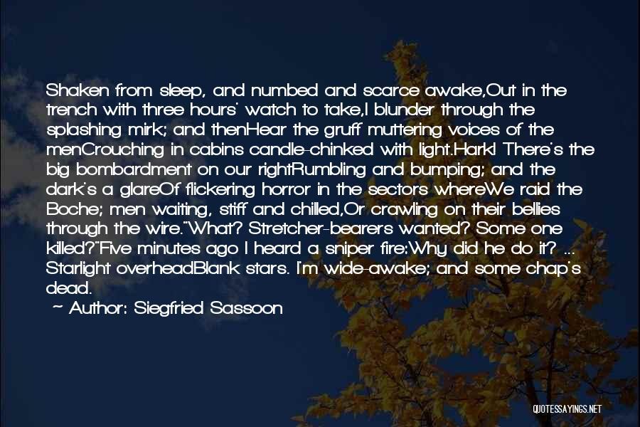 Siegfried Sassoon Quotes 292135