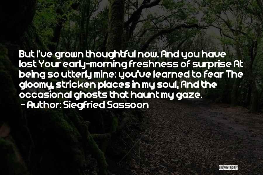 Siegfried Sassoon Quotes 486317