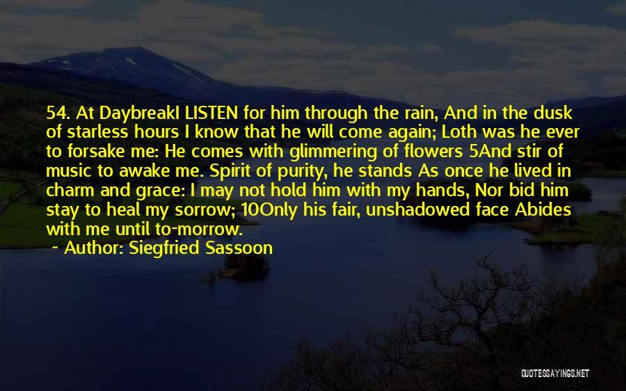 Siegfried Sassoon Quotes 491354