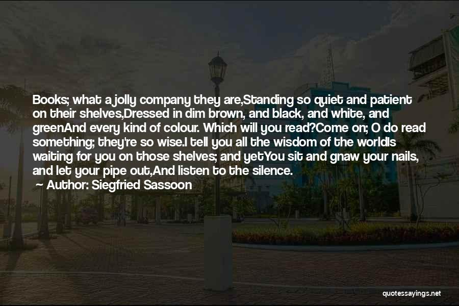 Siegfried Sassoon Quotes 667339