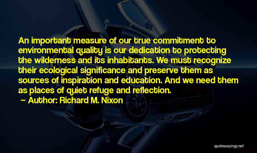 Significance Of Education Quotes By Richard M. Nixon