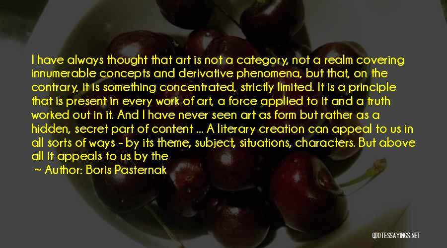 Significance Quotes By Boris Pasternak