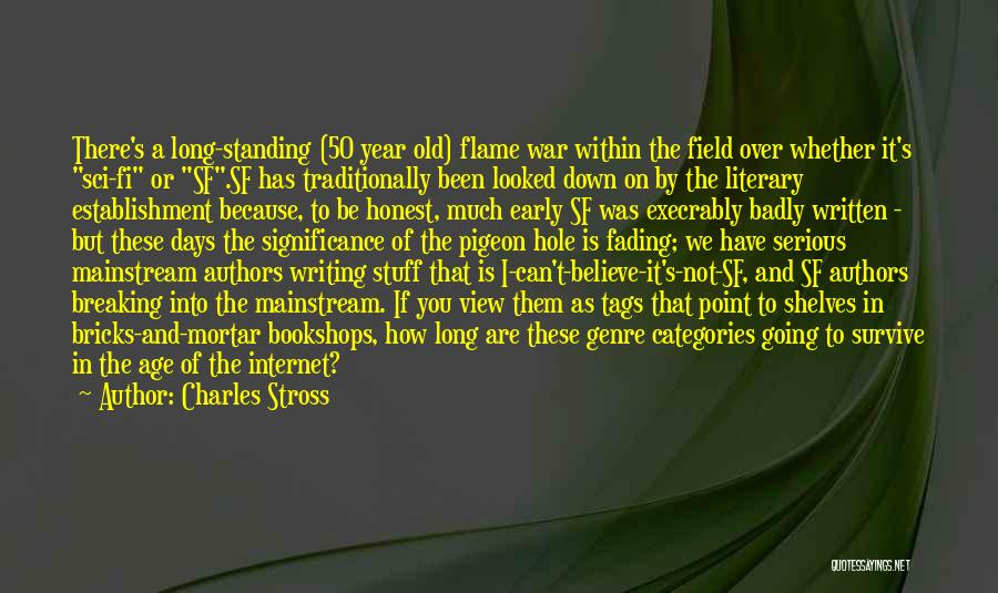 Significance Quotes By Charles Stross