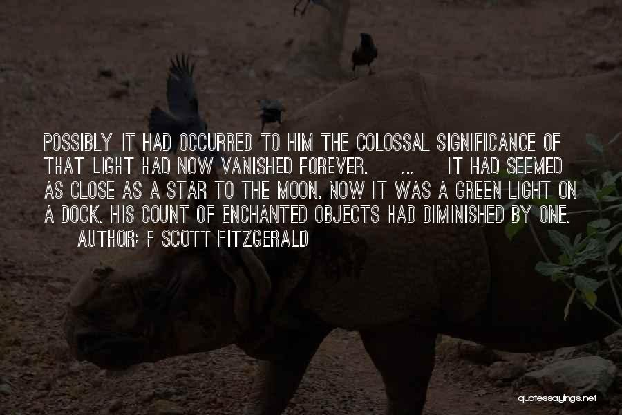 Significance Quotes By F Scott Fitzgerald