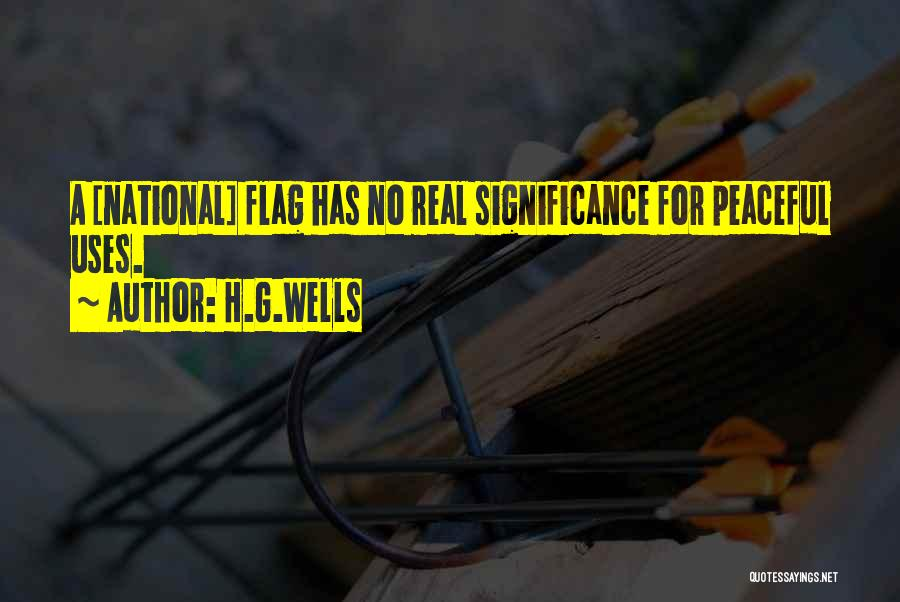 Significance Quotes By H.G.Wells