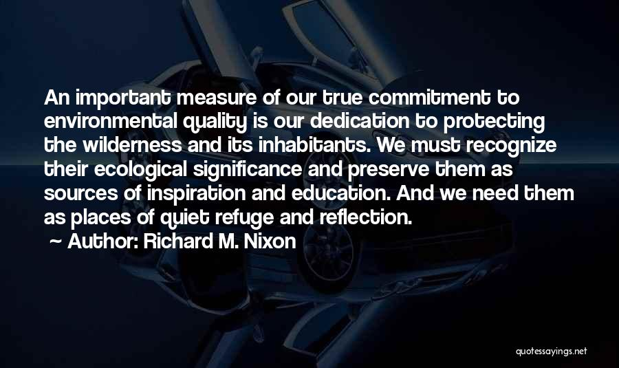 Significance Quotes By Richard M. Nixon