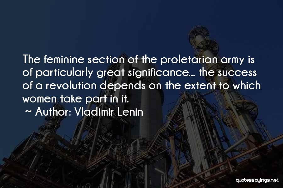 Significance Quotes By Vladimir Lenin
