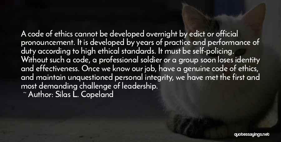 Silas L. Copeland Quotes 471001