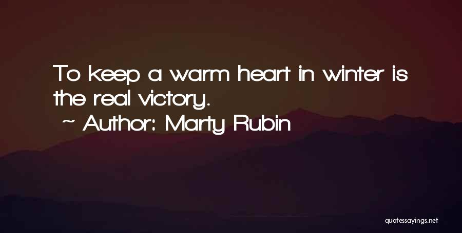 Silence Is The Loudest Quotes By Marty Rubin