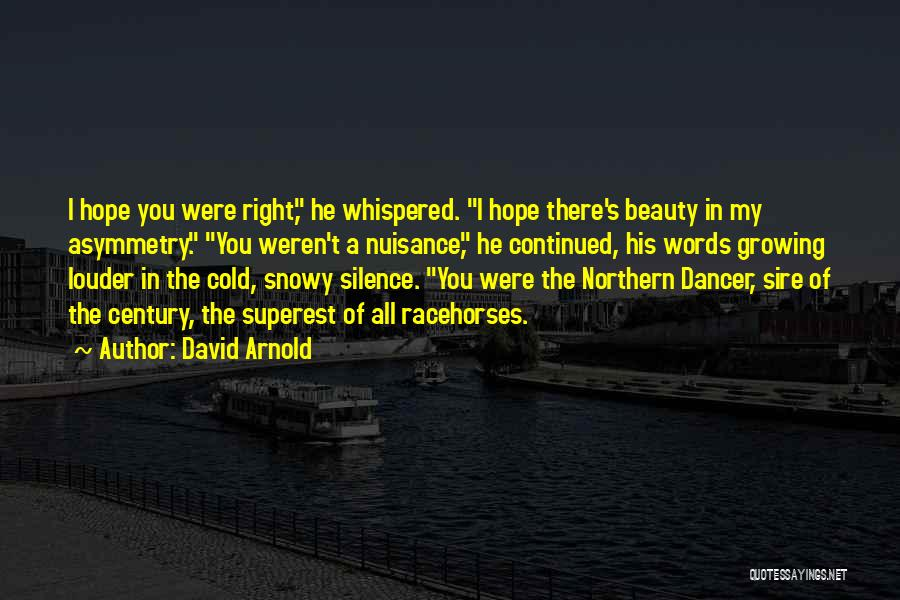 Silence Louder Than Words Quotes By David Arnold