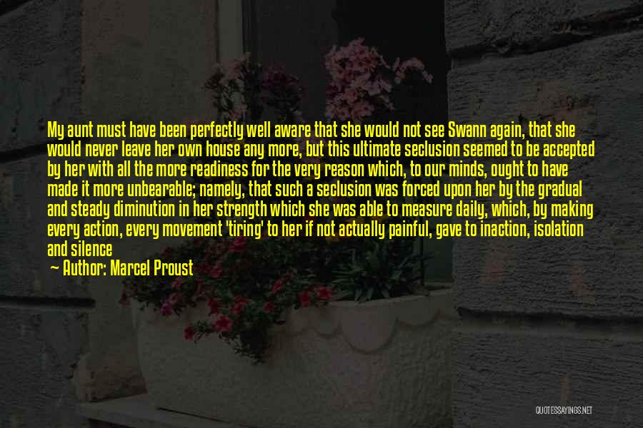Silence Painful Quotes By Marcel Proust