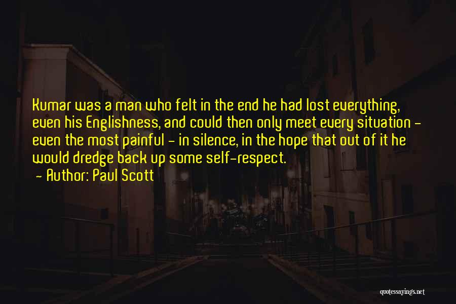 Silence Painful Quotes By Paul Scott