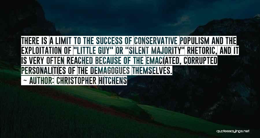 Silent Majority Quotes By Christopher Hitchens