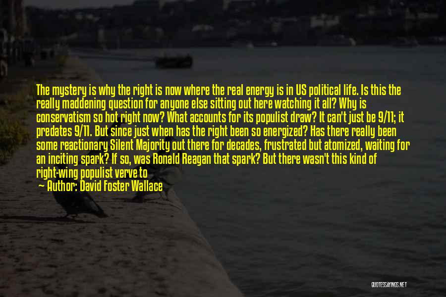 Silent Majority Quotes By David Foster Wallace
