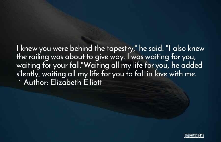 Silently Waiting Quotes By Elizabeth Elliott