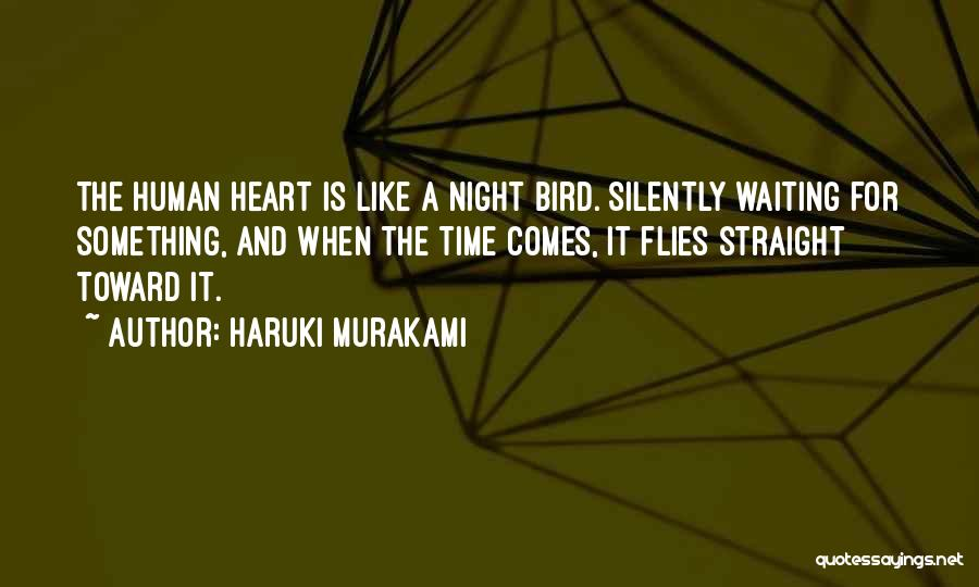 Silently Waiting Quotes By Haruki Murakami