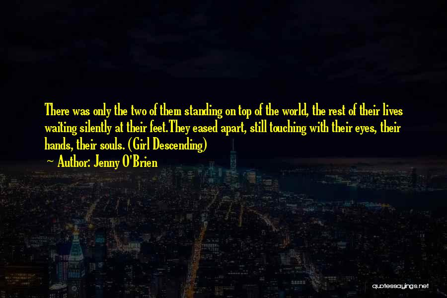 Silently Waiting Quotes By Jenny O'Brien