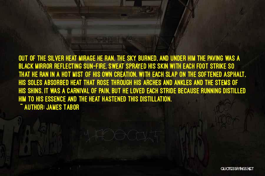 Silver Mist Quotes By James Tabor