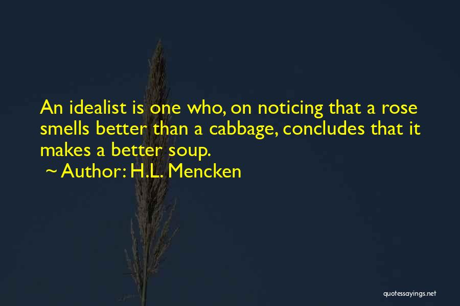 Similes And Metaphors Quotes By H.L. Mencken