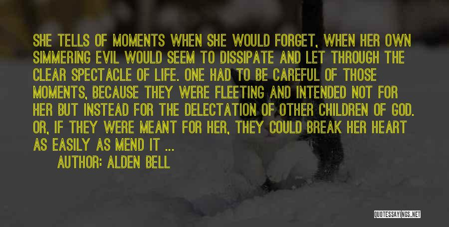 Simmering Quotes By Alden Bell
