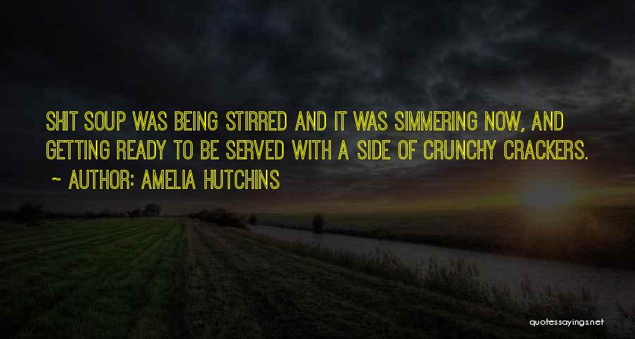 Simmering Quotes By Amelia Hutchins