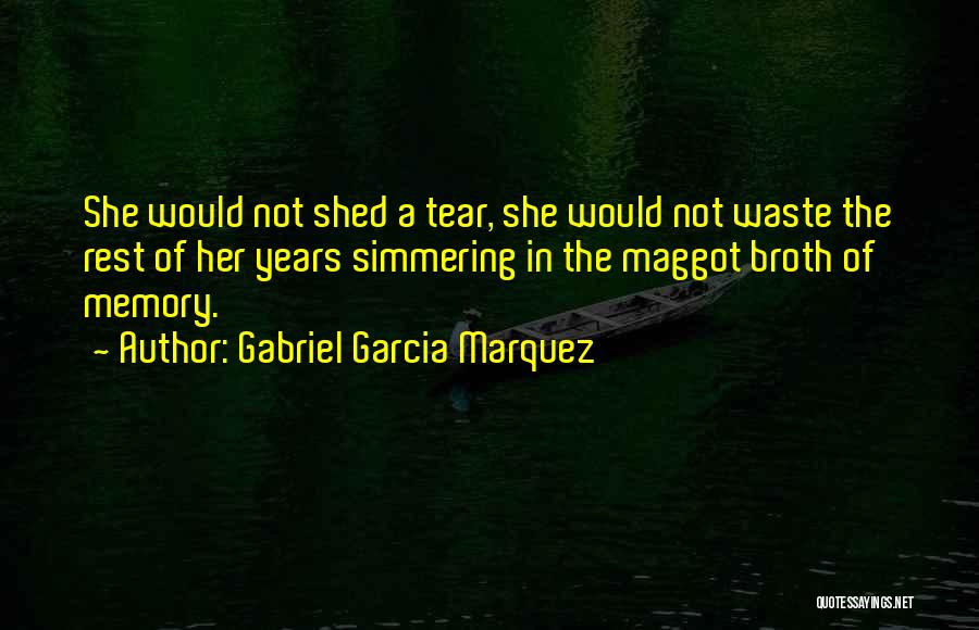 Simmering Quotes By Gabriel Garcia Marquez