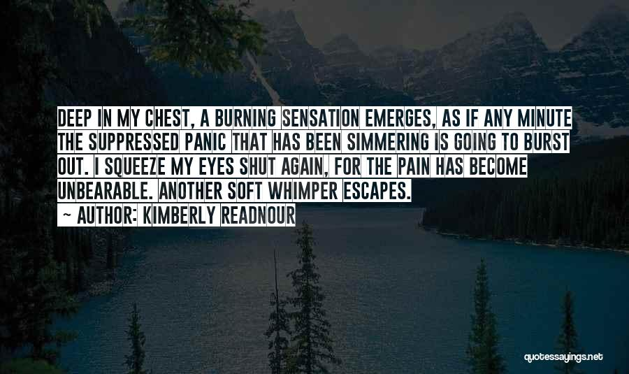 Simmering Quotes By Kimberly Readnour
