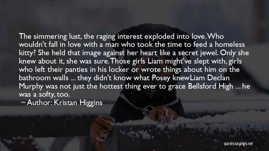 Simmering Quotes By Kristan Higgins