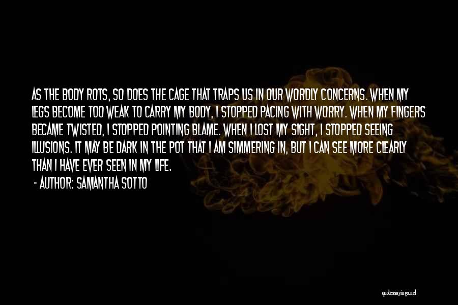 Simmering Quotes By Samantha Sotto