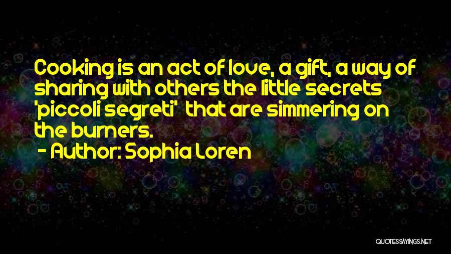 Simmering Quotes By Sophia Loren