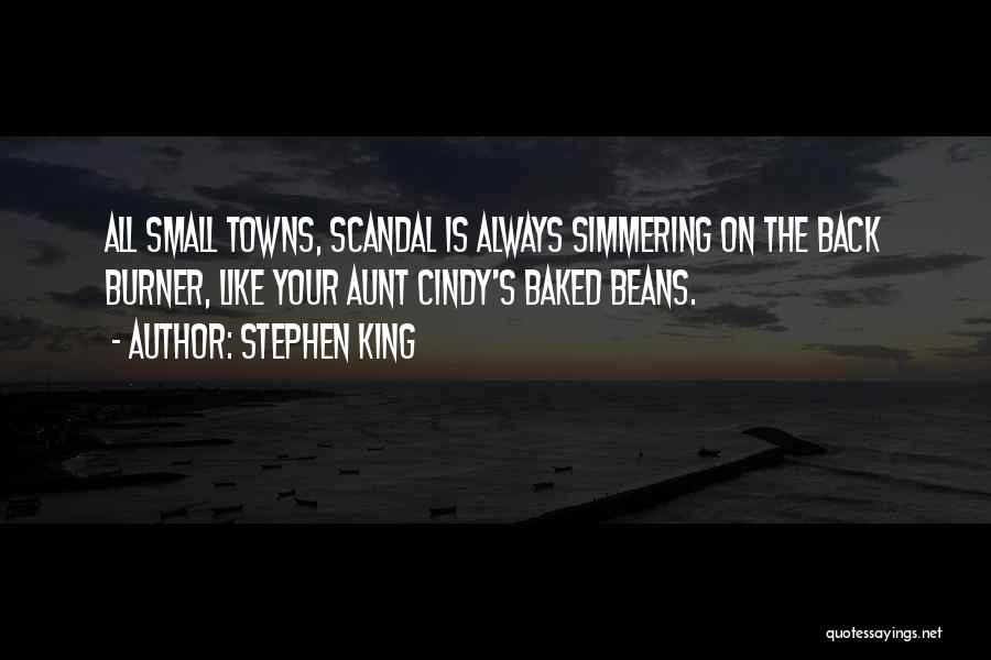 Simmering Quotes By Stephen King