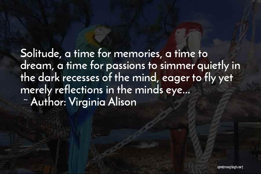 Simmering Quotes By Virginia Alison