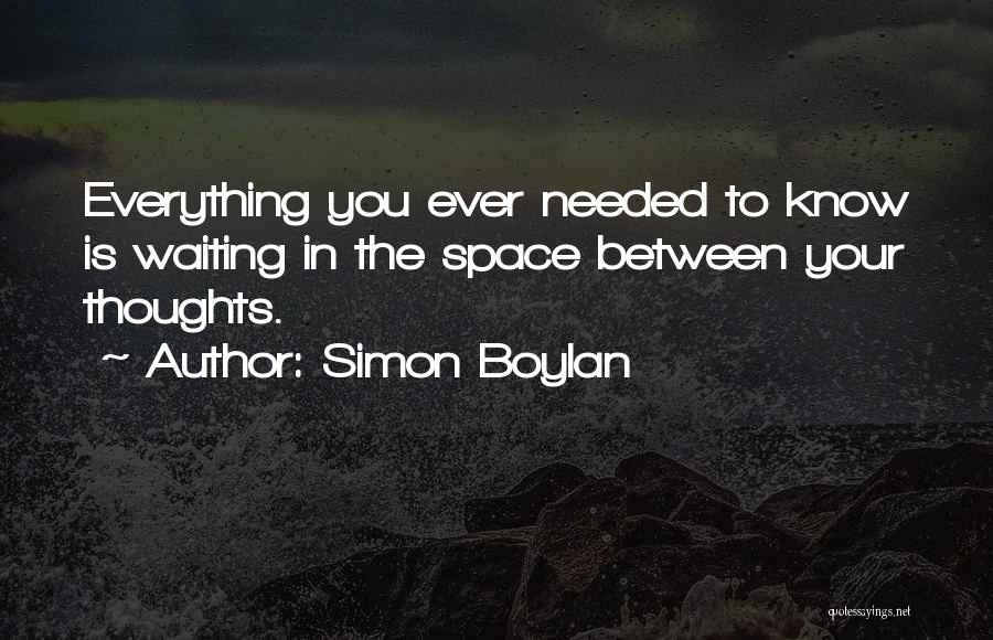 Simon Boylan Quotes 1826158