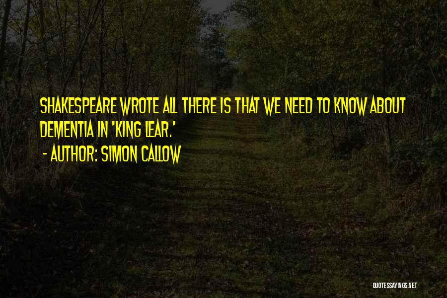 Simon Callow Quotes 2159566