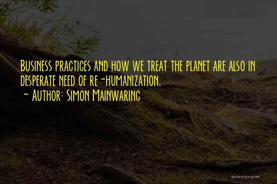 Simon Mainwaring Quotes 1006675