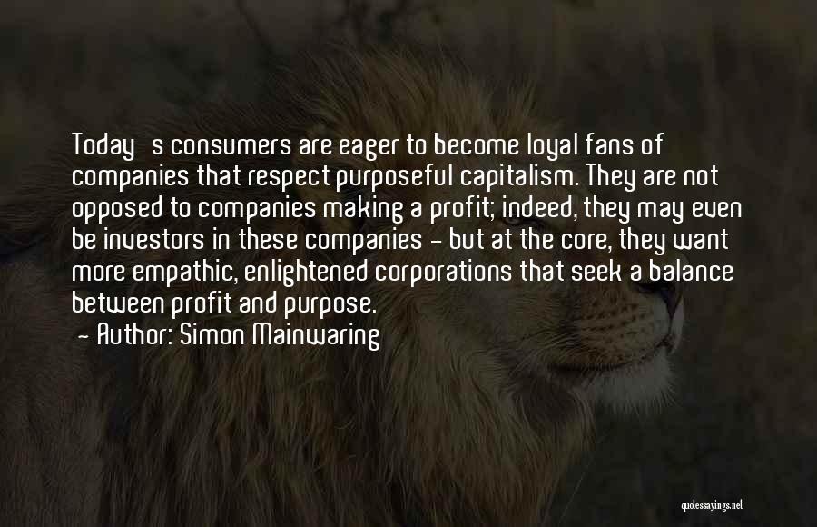 Simon Mainwaring Quotes 1089530