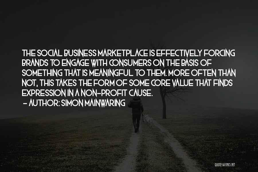 Simon Mainwaring Quotes 1222666