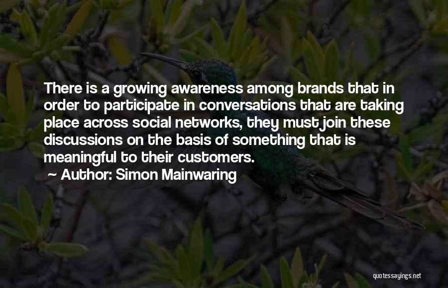 Simon Mainwaring Quotes 1326276