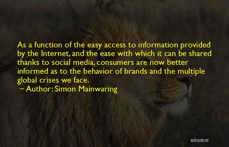 Simon Mainwaring Quotes 1425603