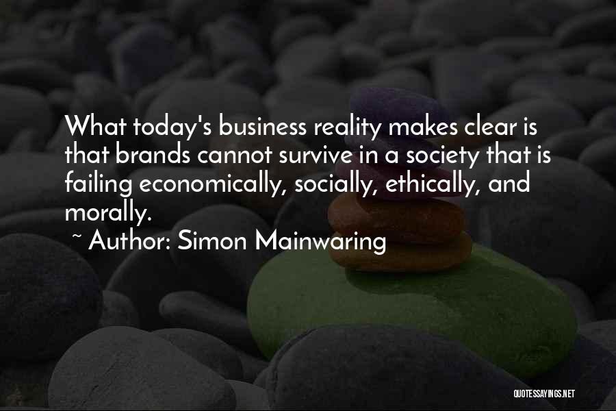 Simon Mainwaring Quotes 1463394
