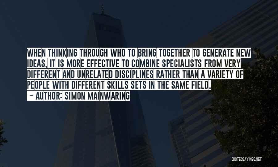 Simon Mainwaring Quotes 1496956