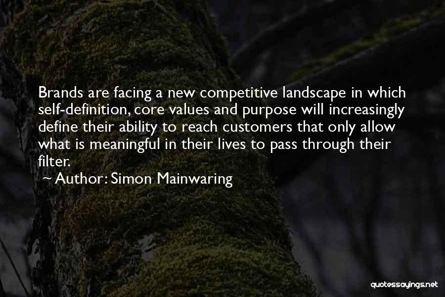 Simon Mainwaring Quotes 155826