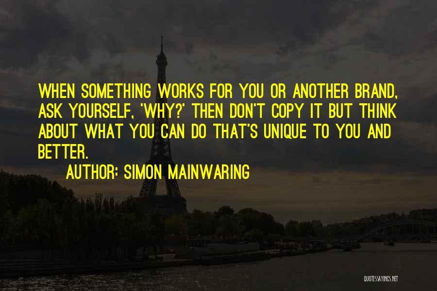 Simon Mainwaring Quotes 156167