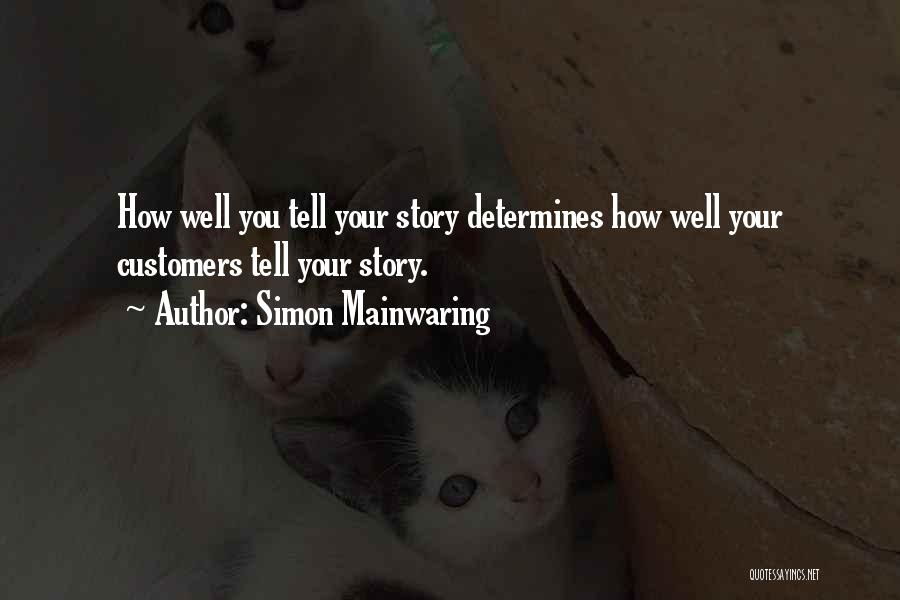 Simon Mainwaring Quotes 171930