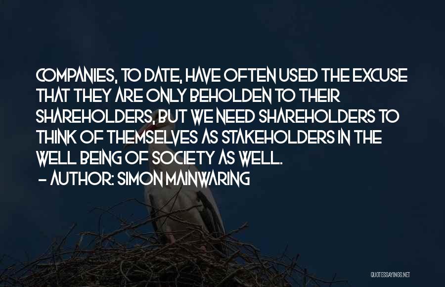 Simon Mainwaring Quotes 1774852