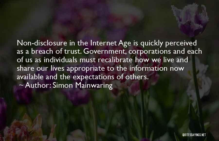 Simon Mainwaring Quotes 1778854