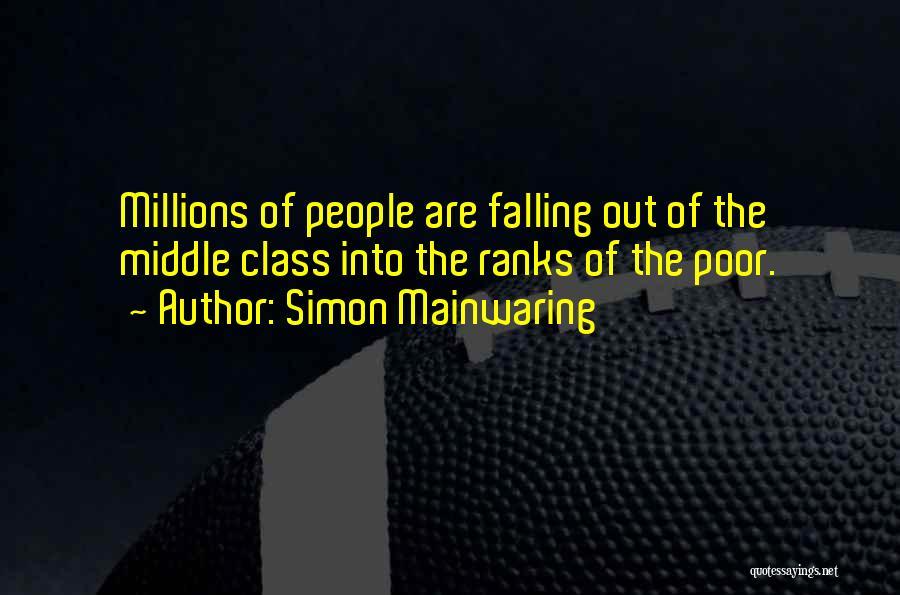 Simon Mainwaring Quotes 1870517