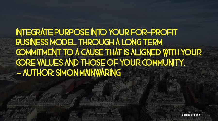Simon Mainwaring Quotes 1940877